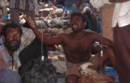 மாத்தளன் பகுதியில் 8:00 மணி தொடக்கம்  இரவு 7:00 மணிவரையும்   800 வரையான எறிகணைகள் வீசப்பட்டுள்ளன.