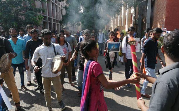 சென்னை பல்கலைக்கழகத்தில் தமிழீழ மாவீரர்களுக்கு இன்று அஞ்சலி