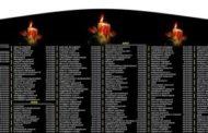 ட்டு மாவீரர்களின் பெயர்கள் பொறிக்கப்பட்ட கல்வெட்டு